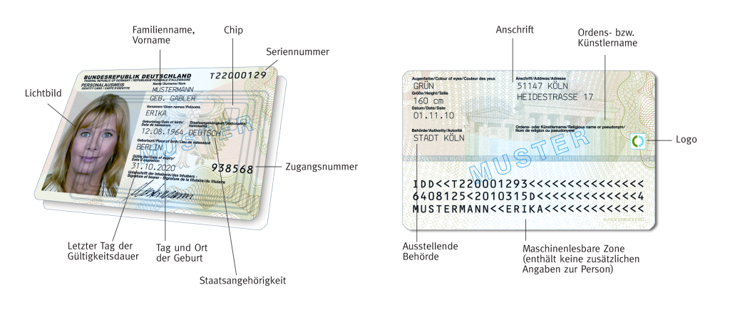 Infos zum neuen Personalausweis | Willkommen bei serpent\'s embrace